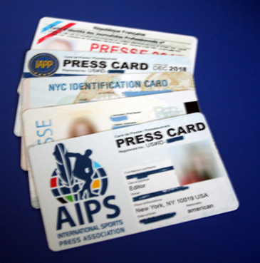 Carte de presse internationale- Press Card journalist - Photojournaliste